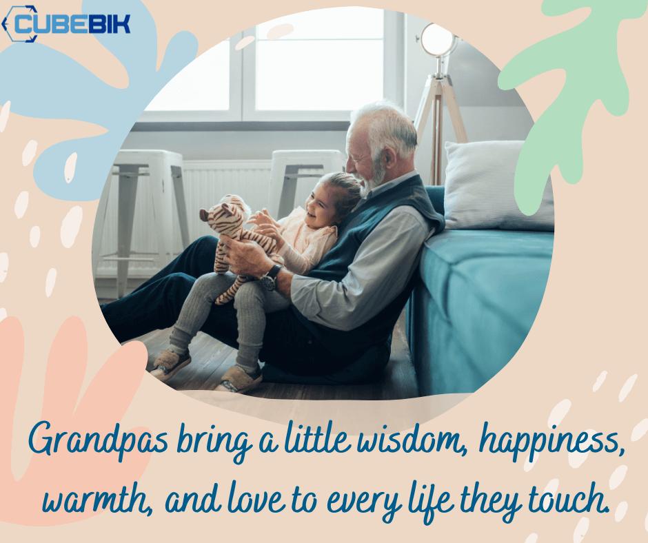 Grandfather Kid - Cubebik