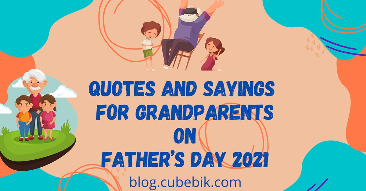 Fathers Grandpa Banner 3 - Cubebik Blog